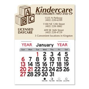 Daycare Peel-N-Stick� Multi-Use Calendar